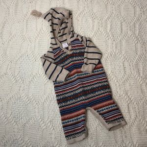 Hanna Andersson l Sweater Knit One Piece Hood